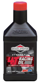 AMSOIL Briggs & Stratton Synthetic 4T Racing Oil (GBS2960)
