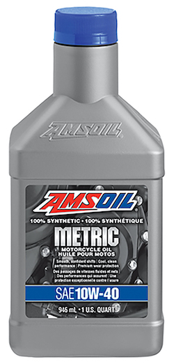 10W-40 Synthetic Metric Motorcycle Oil (MCF)