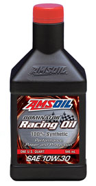 AMSOIL Dominator® Synthetic 10W-30 Racing Oil (RD30)