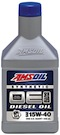AMSOIL OE 15W-40 Synthetic Diesel Oil (OED)