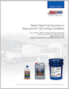 Diesel Fleet Fuel Economy Study in Stop-and-Go City Conditions (G3086)